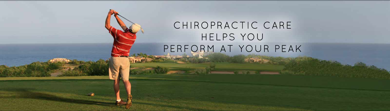 Dr. Barnett will help you perform at your best, golf image